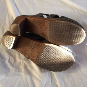 Maguba Shoes - Maguba of Sweden Clogs Grey Wooden Pump